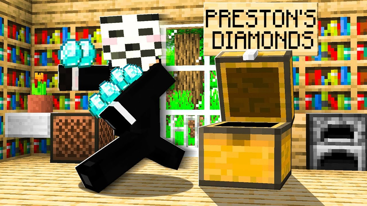 Someone Stole ALL of my DIAMONDS in Minecraft... thumbnail