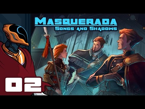 Let's Play Masquerada: Songs And Shadows - PC Gameplay Part 2 - Origami Attack!