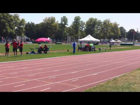Lyon France Alfred Short Triple Jump