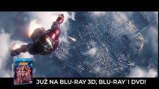 Avengers: Wojna bez granic - oficjalny spot Blu-ray 3D, Blu-ray i DVD