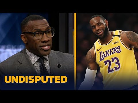 LeBron gets a 'C' grade for his performance vs. Knicks at MSG — Shannon Sharpe | NBA | UNDISPUTED