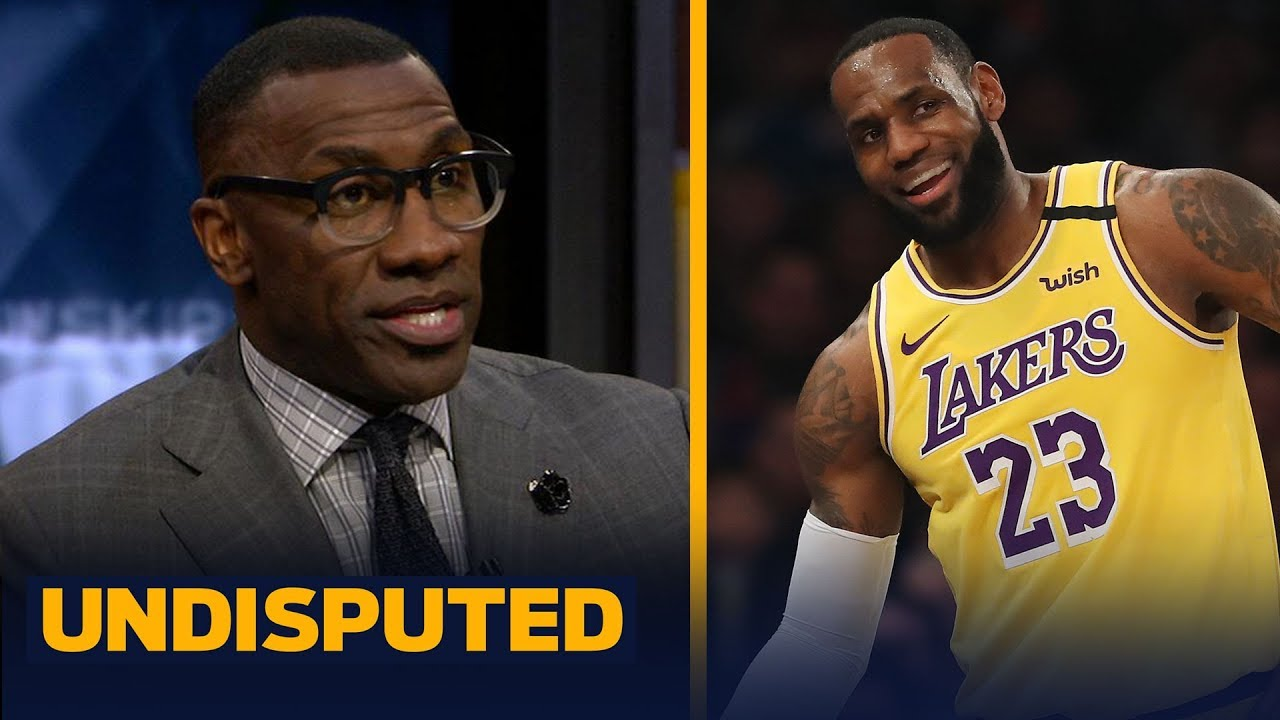 LeBron gets a 'C' grade for his performance vs. Knicks at MSG — Shannon Sharpe | NBA