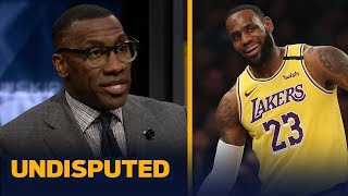 Download LeBron gets a 'C' grade for his performance vs. Knicks at MSG — Shannon Sharpe   NBA   UNDISPUTED Mp3 and Videos
