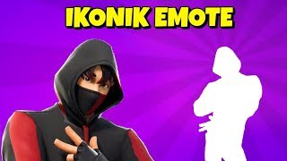 New IKONIK SKIN KPOP DANCE/EMOTE in Fortnite