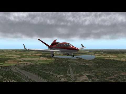 Landing 32L Omaha KOMA Cirrus Jet rate 89