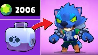 TRYING TO GET A WEREWOLF LEON IN BRAWL STARS!