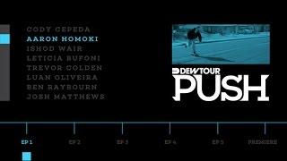 "PUSH - Aaron ""Jaws"" Homoki | Episode 1"