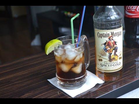Домашний Бар |Captain Morgan / Cuba Libre(Куба Либре),Ginger Ale&Rum