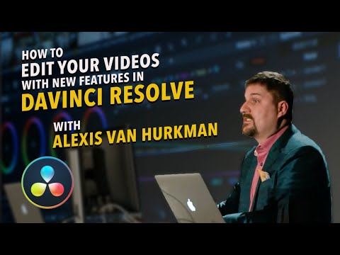 Las Vegas SuperMeet 2016: Blackmagic Design DaVinci Resolve, Alexis Van Hurkman