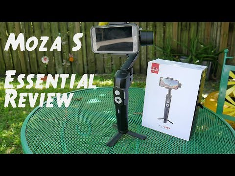 MOZA Mini-S Essential phone Gimbal review $79.00 bang for the buck