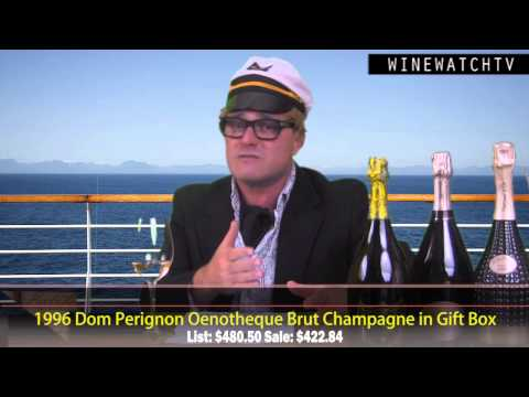 End of the Year Champagne Offering- Dom Perignon Jeff Koons Edition - click image for video