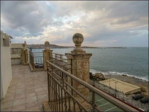 Malta Property For Sale or To Let | Seafront Penthouse at Bugibba