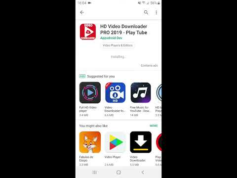 Download video Youtube by HD Video Downloader PRO 2019 - Play Tube