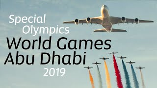 Etihad at the Special Olympics World Games Abu Dha...