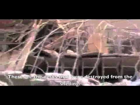 ENGLISH SUBTITLES: Aleppo || Total destruction of a children's school in Al-Maseer