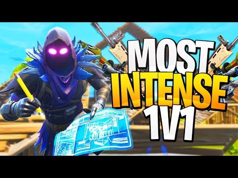 The MOST INTENSE Final 1v1! - PS4 Pro Fortnite Solos!