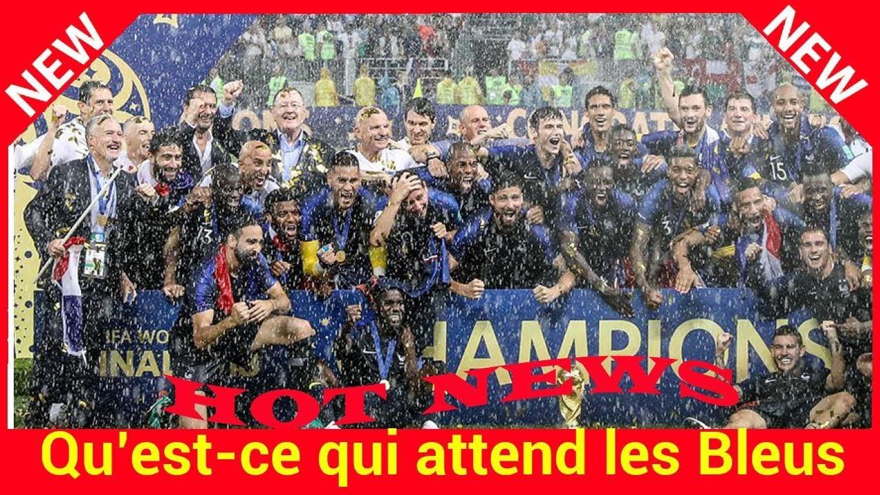 Qu est ce qui attend les bleus apr s la victoire de la coupe du monde youtube - Qu est ce qui coupe l appetit ...