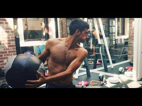 Federer,Djokovic,Nadal,Murray Gym Workout 2018