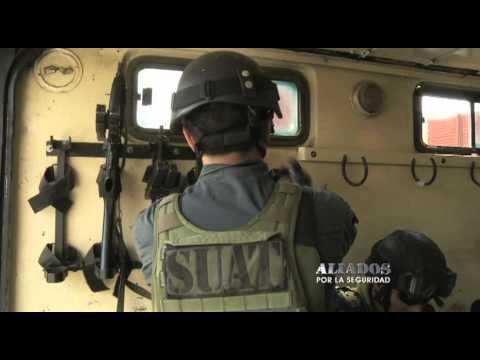 Aliados por la seguridad: los tácticos de la policia, SUAT