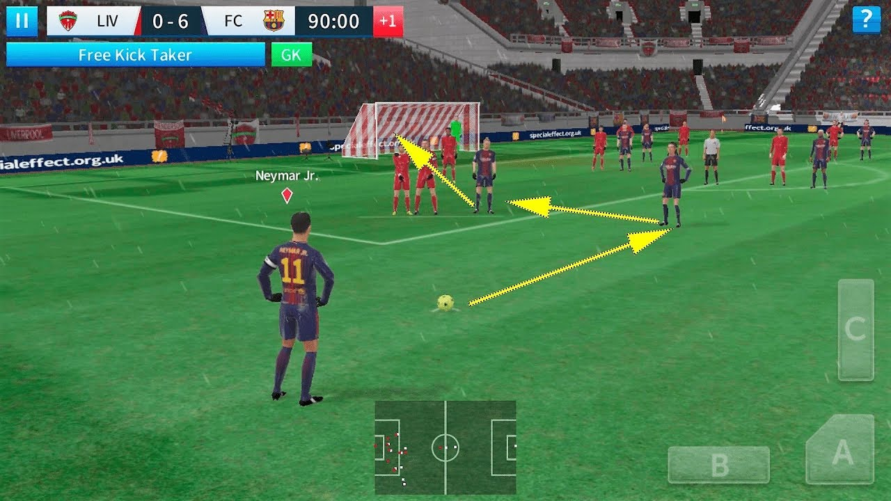 Dream League Soccer 2018 Android Gameplay #16