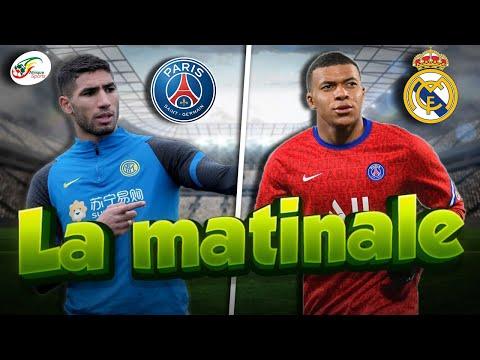 Le Real Madrid abandonne la piste Mbappé.. Achraf Hakimi débarque enfin à Paris   MATINALE