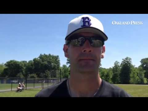 Bloomfield Hills Baseball Coach Mike Boyd After 4-1 Regional Semifinal Loss To Clarkston #mipzbaseba