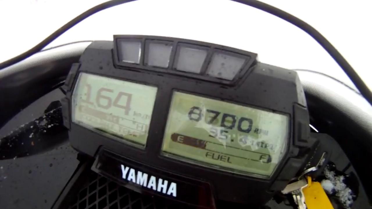 Yamaha Sidewinder Top Speed
