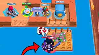300 IQ Sprout + Gadget Colt!!! Brawl Stars Funny Moments & Glitches & Fails #344