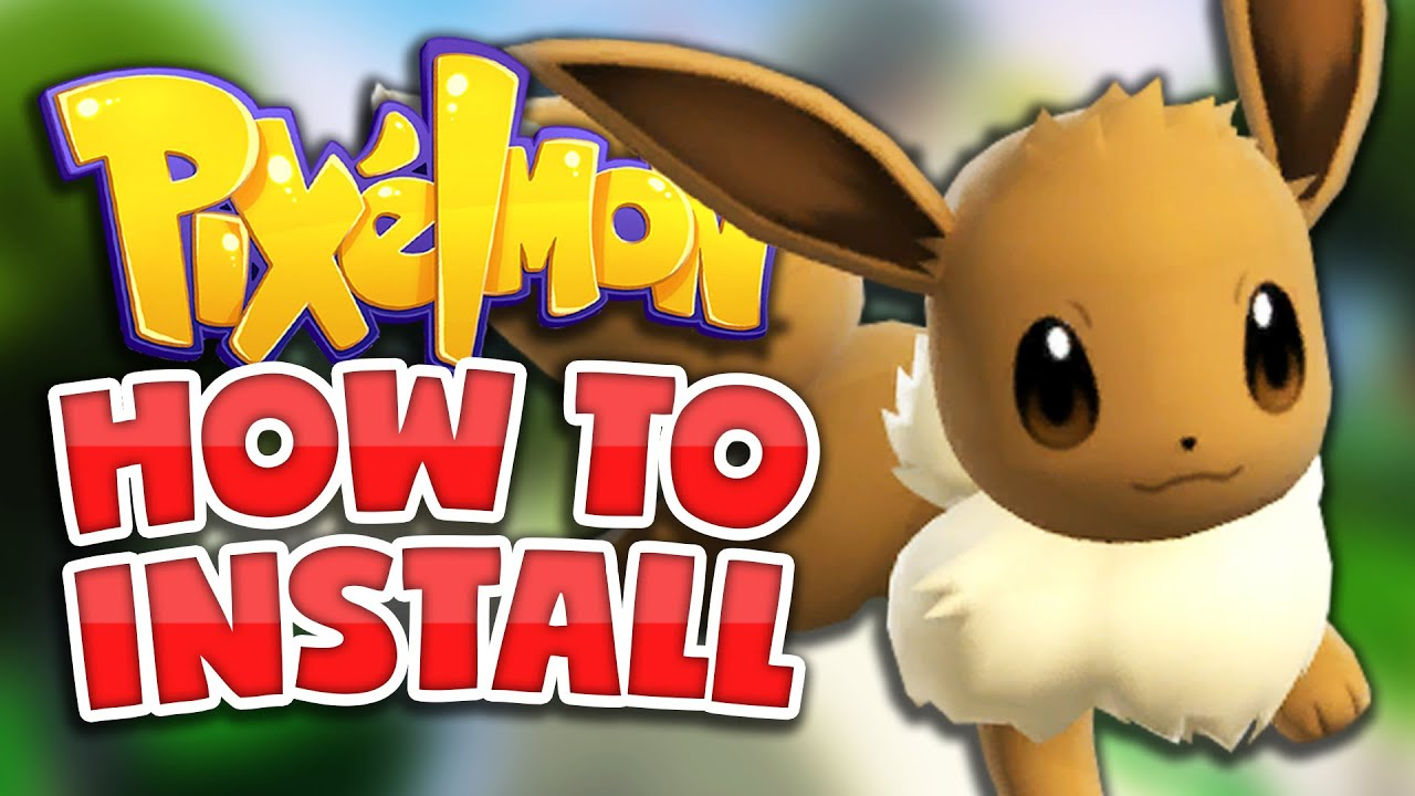 HOW TO INSTALL PIXELMON *EASIEST METHOD* Minecraft Pokemon Mod