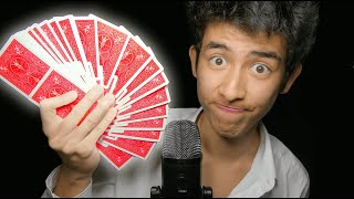 ASMR but i fool 99.99% of you with card tricks