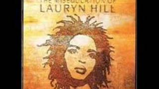 Lauryn Hill Can't Take My Eyes Off Of You