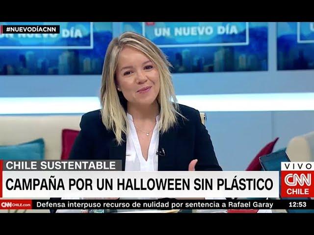 Cata Droguett CNN - Halloween con menos plástico