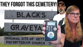 Forgotten Graveyard in Gettysburg! Ghost Box Session
