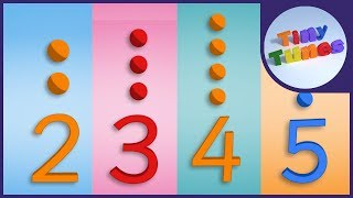 Times Tables Collection | Part 1 | 2, 3, 4 & 5 times tables