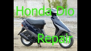 Ремонт Honda Dio 27|Не заводится со стартера| Часть - 1