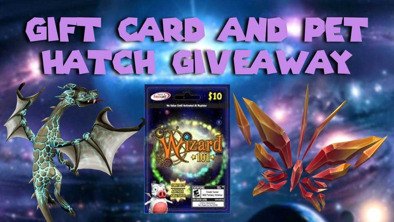 Wizard101 Gift Card Free Crowns And Membership And Pet Hatch Giveaway