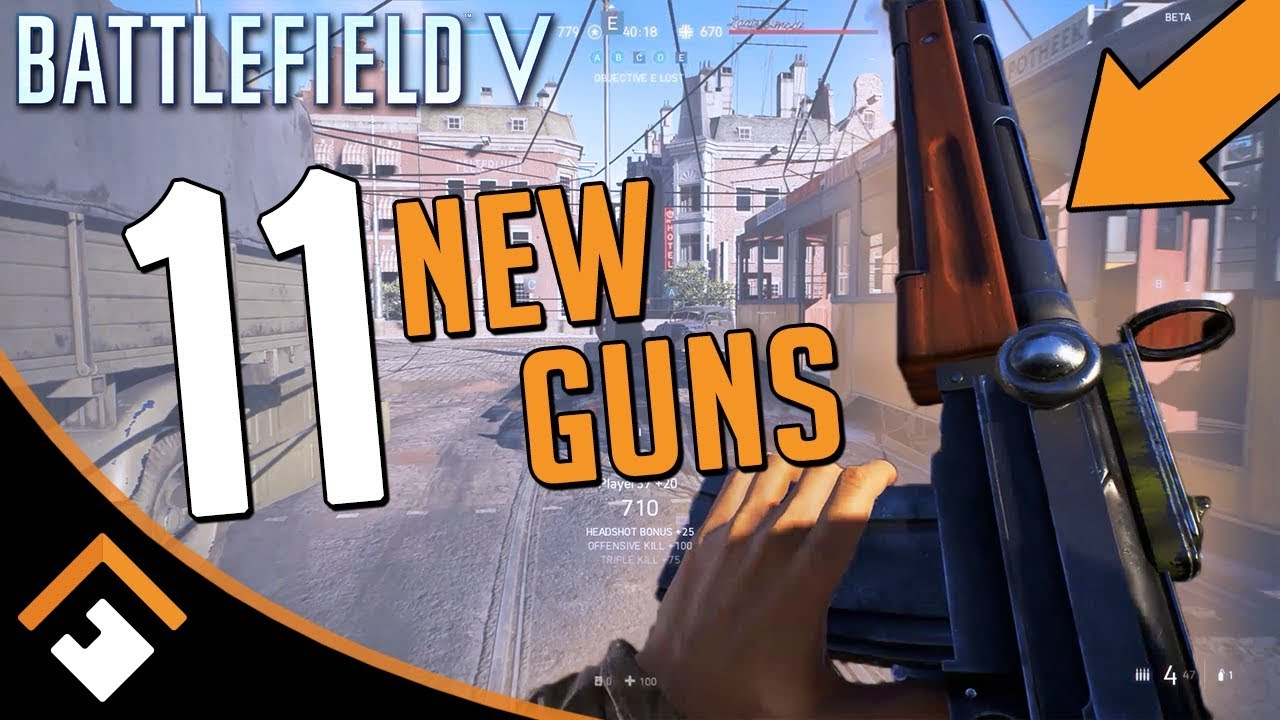 Battlefield V Beta: 11 New Weapons + Rotterdam Gameplay (No Commentary)
