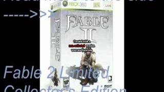 Fable 2 Limited Edition *Read Description*