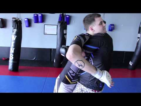 Contract Killer: Bearhug Backbreaker Takedown (working From The Clinch)
