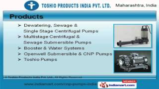 Water Treatment Pumps & Equipments by Toshio Products India Pvt. Ltd., Thane
