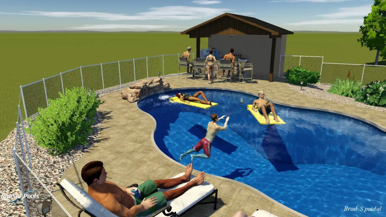 Lagoon Pool Design by Rideau Pools Ottawa YouTube