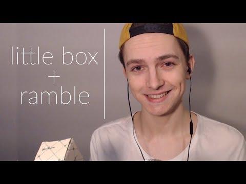Little Box ASMR (+ whispered ramble)