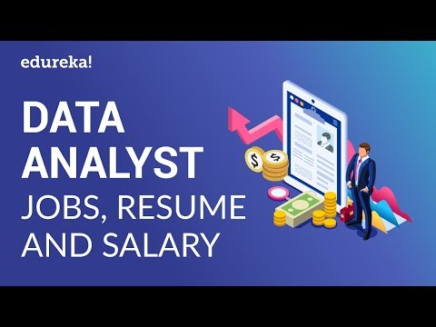 Data Analyst Job Description | Data Analyst Resume & Salary Trends | Data Analyst Training | Edureka