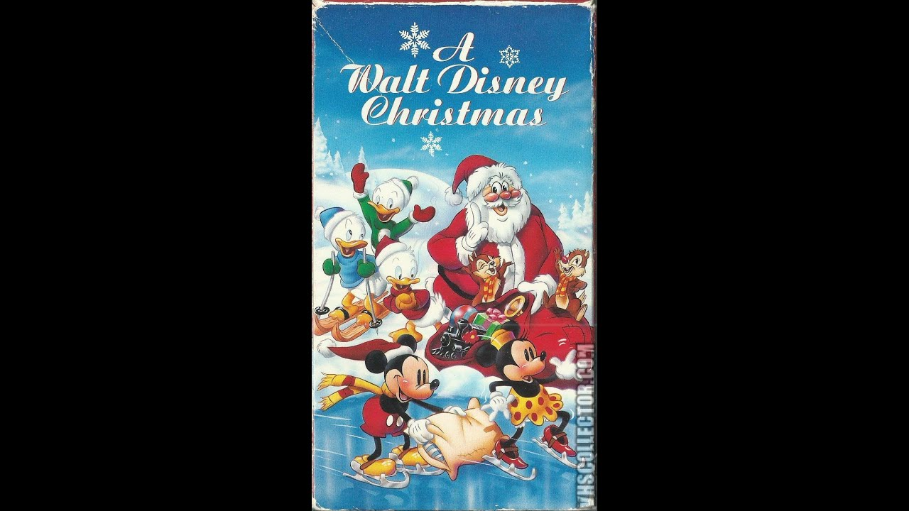Opening To A Walt Disney Christmas 1994 VHS - YouTube