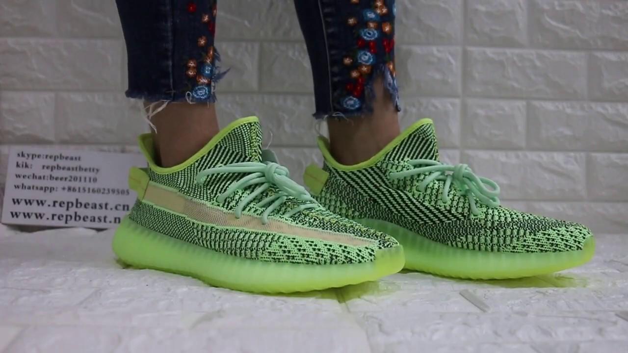 Adidas Mens Yeezy Boost 350 V2 Yeezreel Non eBay