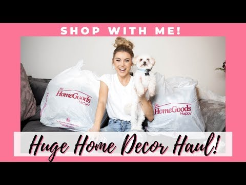 Huge Home Decor Haul   Shop With Me