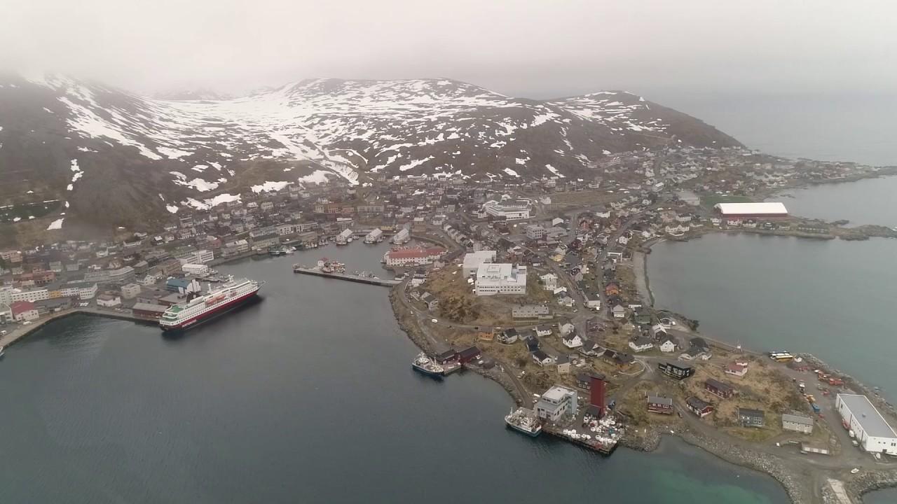 Port Of Honningsvag Norway Youtube