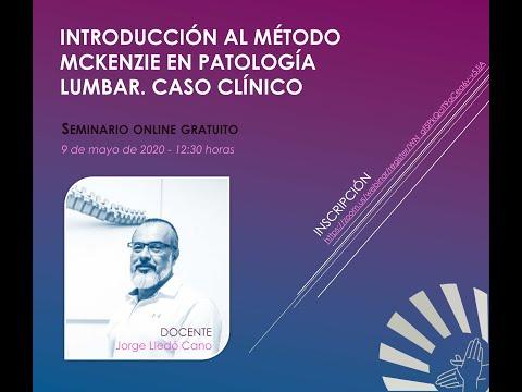 Introducción al método Mckenzie en patología lumbar. Caso clinico