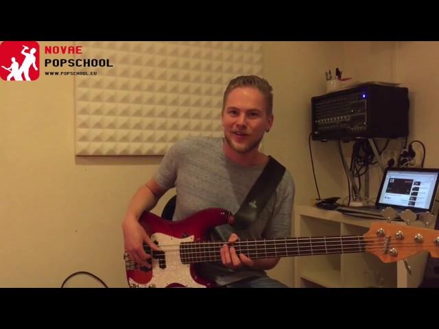 Monday Blues Lick #1: Wake up that bass!