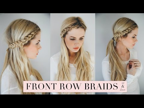 TUTORIAL | Front Row Braid